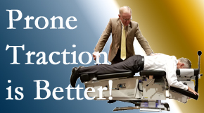 Vancouver spinal traction applied lying face down – prone – is best according to the latest research. Visit Vancouver Disc Centers.