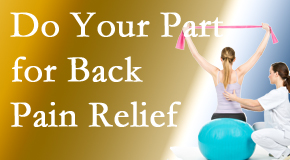 Vancouver Disc Centers invites back pain sufferers to participate in their own back pain relief recovery.