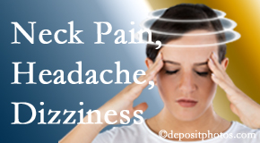 Vancouver Disc Centers helps relieve neck pain and dizziness and related neck muscle issues.