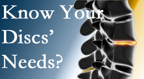 Your Vancouver chiropractor thoroughly understands spinal discs and what they need nutritionally. Do you?