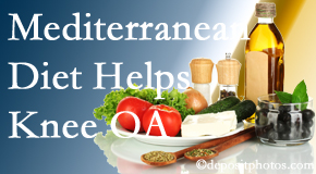 Vancouver Disc Centers shares recent research about how good a Mediterranean Diet is for knee osteoarthritis as well as quality of life improvement.