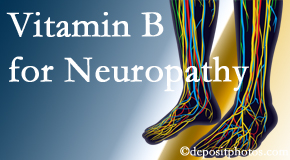 Vancouver Disc Centers recognizes the benefits of nutrition, especially vitamin B, for neuropathy pain along with spinal manipulation.