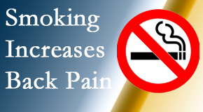 Vancouver Disc Centers explains that smoking intensifies the pain experience especially spine pain and headache.