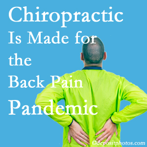 Vancouver chiropractic care at Vancouver Disc Centers is well-equipped for the pandemic of low back pain.
