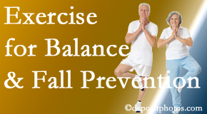 Vancouver chiropractic care of balance for fall prevention involves stabilizing and proprioceptive exercise.