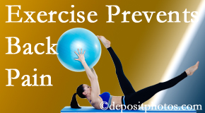 Vancouver Disc Centers encourages Vancouver back pain prevention with exercise.