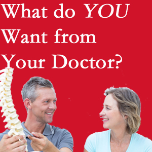 Vancouver chiropractic at Vancouver Disc Centers includes examination, diagnosis, treatment, and listening!