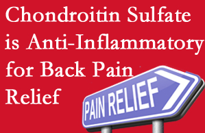 Vancouver chiropractic treatment plan at Vancouver Disc Centers may well include chondroitin sulfate!