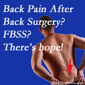 Vancouver chiropractic care offers a treatment plan for relieving post-back surgery continued pain (FBSS or failed back surgery syndrome).