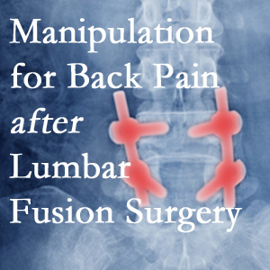 Vancouver chiropractic spinal manipulation helps post-surgical continued back pain patients discover relief of their pain despite fusion.