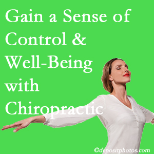 Using Vancouver chiropractic care as one complementary health alternative boosted patients sense of well-being and control of their health.