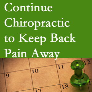 Continued Vancouver chiropractic care fosters back pain relief.