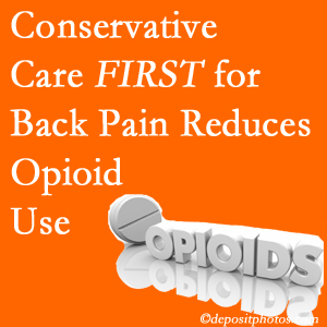 Vancouver Disc Centers delivers chiropractic treatment as an option to opioids for back pain relief.